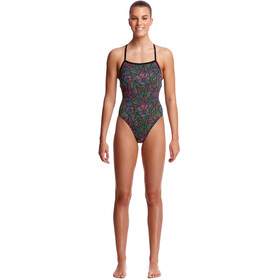 Funkita Strapped In One Piece Swimsuit Damer, poison pop